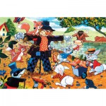 Puzzle  James-Hamilton-Playdays-01 Playdays