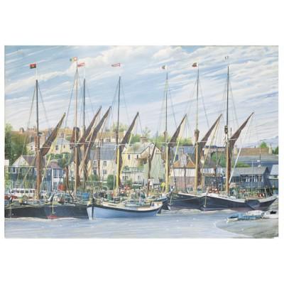 Puzzle James-Hamilton-TB1/7005 Thames Sailing Barges