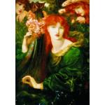 Puzzle  Gold-Puzzle-60584 Dante Gabriel Rossetti: La Ghirlandata