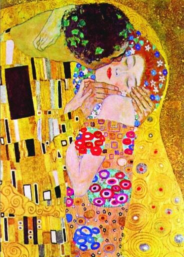 Puzzle Gold-Puzzle-60614 Gustav Klimt: Der Kuss