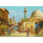 Puzzle  Gold-Puzzle-60744 Carl Wuttke: Orientalisches Straßenmotiv