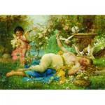 Puzzle  Gold-Puzzle-60874 Joseph Bernard: Venus und Cupido