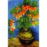 Puzzle  Gold-Puzzle-60911 Vincent van Gogh: Kaiserkronen in einer Kuupfervase