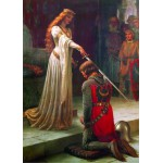 Puzzle  Gold-Puzzle-60959 Leighton Edmund Blair: The Accolade