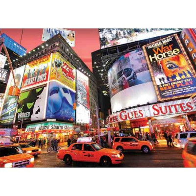 Puzzle Gold-Puzzle-61567 Broadway, Times Square, NY