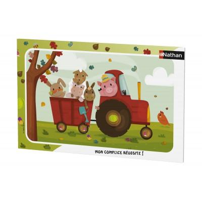 Nathan-86015 Rahmenpuzzle - Bauernhoftiere