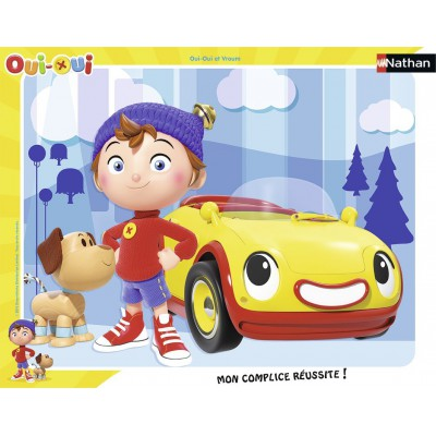 Nathan-86054 Rahmenpuzzle - Oui-Oui