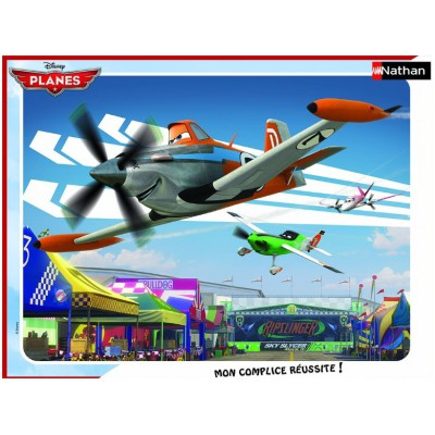 Puzzle Nathan-86113 Planes: Dusty an der Spitze