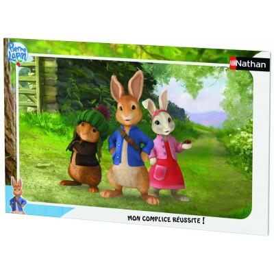 Nathan-86117 Rahmenpuzzle - Peter Rabbit