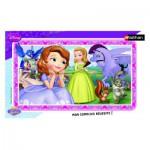 Nathan-86118 Rahmenpuzzle - Prinzessin Sofia