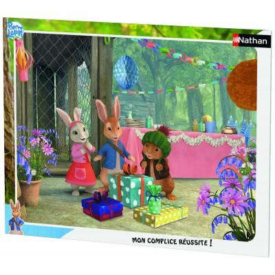 Nathan-86119 Rahmenpuzzle - Peter Rabbit