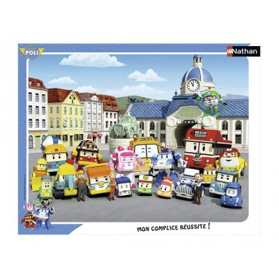 Puzzle Nathan-86123 Robocar Poli