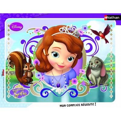 Nathan-86135 Rahmenpuzzle: Prinzessin Sofia