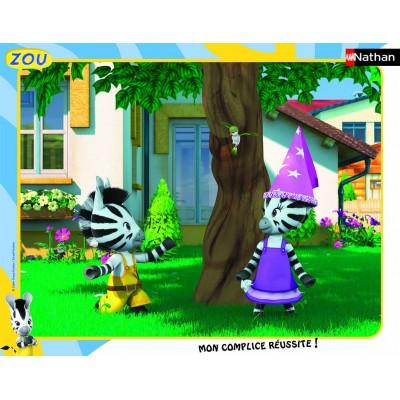 Nathan-86140 Puzzle quadratisch - Zou und Elzee