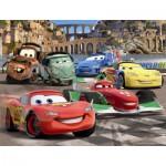 Puzzle  Nathan-86310 Cars 2: Die Freunde von Flash McQueen