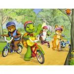 Puzzle  Nathan-86312 Franklin: Fahrradtour