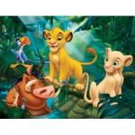 Puzzle  Nathan-86313 Der König der Löwen: Simba & Co