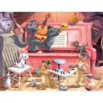 Puzzle  Nathan-86316 Aristochats Konzert