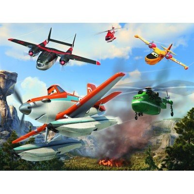 Puzzle Nathan-86334 Disney Planes - Helden in schwieriger Mission