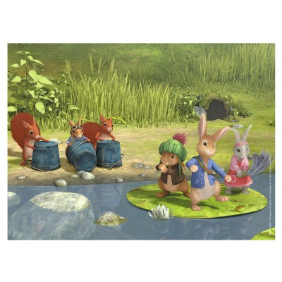 Puzzle Nathan-86336 Peter Rabbit - Am Flussufer