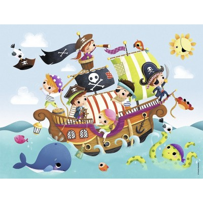 Puzzle Nathan-86349 Piraten