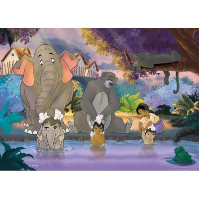 Puzzle Nathan-86492 Das Dschungelbuch: Das Bad