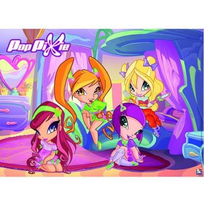 Puzzle Nathan-86562 Pop Pixie: Geheimnis unter Mädchen