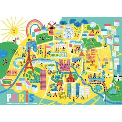 Puzzle Nathan-86566 Paris, Frankreich