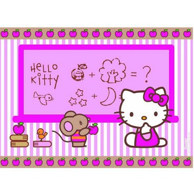 Puzzle Nathan-86616 Hello Kitty: In der Schule