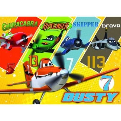Puzzle Nathan-86633 Planes: Dusty und ihre Freunde