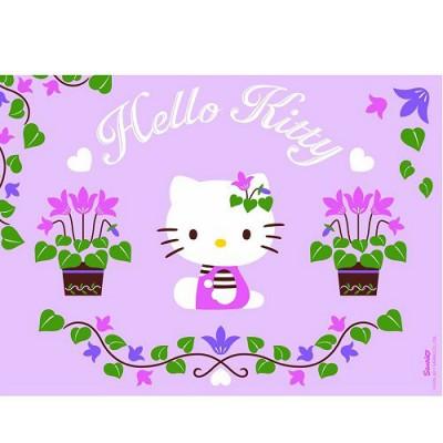 Puzzle Nathan-86695 Hello Kitty im Garten