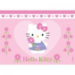 Puzzle  Nathan-86696 Eine Blume für Hello Kitty