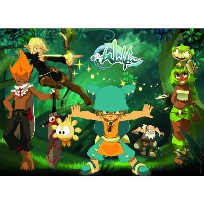 Puzzle Nathan-86706 Wakfu: Die Helden von Wakfu