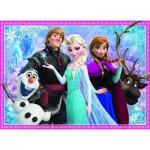 Puzzle  Nathan-86727 Die Eiskönigin - Olaf und seine Freunde