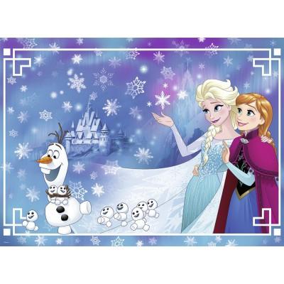 Puzzle Nathan-86807 XXL Teile - Frozen - Die Eiskönigin