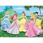 Nathan-86844 Puzzle 150 Teile Maxi - Disney Prinzesinnen: Im Garten der Prinzessinnen
