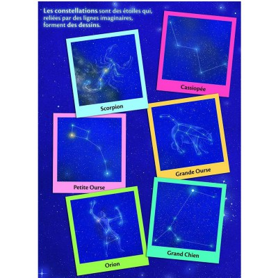 Nathan-86856 Puzzle 150 Teile Maxi: Sternbilder