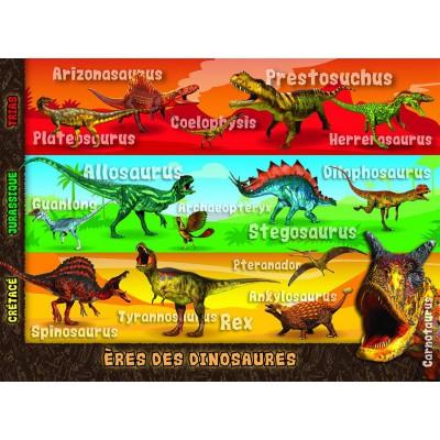 Puzzle Nathan-86926 Zeit der Dinosaurier