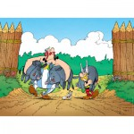 Puzzle  Nathan-86936 Asterix und Obelix: Jagdtrophäe