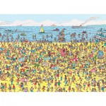 Puzzle  Nathan-86947 Wo ist Charlie ?: Charlie am Strand