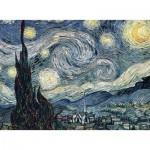 Puzzle  Nathan-87105 Vincent Van Gogh - Sternennacht über der Rhone