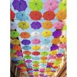 Puzzle  Nathan-87115 Farben Regen