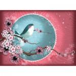 Puzzle  Nathan-87146 Magali Fournier: Sakura