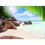 Puzzle  Nathan-87181 Unter der Sonne der Seychellen