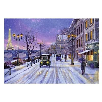 Puzzle Nathan-87769 Dominic Davison - Paris im Winter