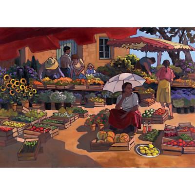 Puzzle Nathan-87859 Der Dorfmarkt