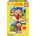 2 Holzpuzzles - Noddy