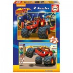 2 Puzzles - Blaze and The Monster Machines