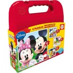 4 Puzzles - Mickey Mouse Club House