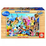 Puzzle  Educa-12002 Die Disney-Familie
